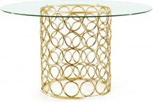 """Opal Dining Table - 54""""RD x 30""""H"""