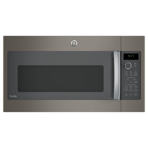 GE Profile™ 1 7 Cu  Ft  Convection Over-the-Range Microwave Oven