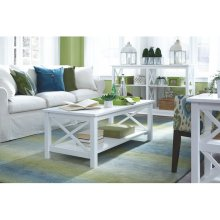 Coffee Table in Pure White