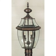 Newbury Outdoor Lantern in Aged Copper