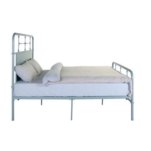 Emerald Home Fairfield Metal Bed Eucalyptus Green B202-08hbfbrgrn