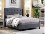 Eva King Headboard/footboard -grey Product Image