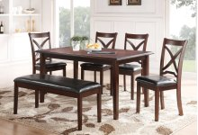 MILO Counter Table + 4 Chairs (Set)