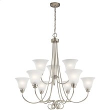 Bixler Collection Bixler 9 light Chandelier NI