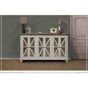 6 Door, Console Ivory Finish Product Image