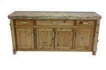 Buffet - 75-inch - Natural Cedar