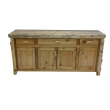 Buffet - 75-inch - Natural Cedar