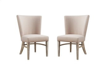 Emerald Home Synchrony Dine Chair W/upholstered Seat & Back Pearl D112-22 Product Image