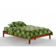 P-Series Basic Bed in Cherry Finish