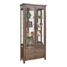 44253 ASHBURY TWO DOORS W/ DRAWER ACCENT CABINET