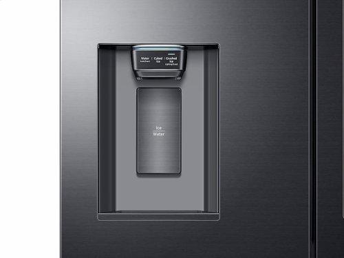 22 cu. ft. Capacity Counter Depth 4-Door French Door Refrigerator with Family Hub Recessed Handles (2017)