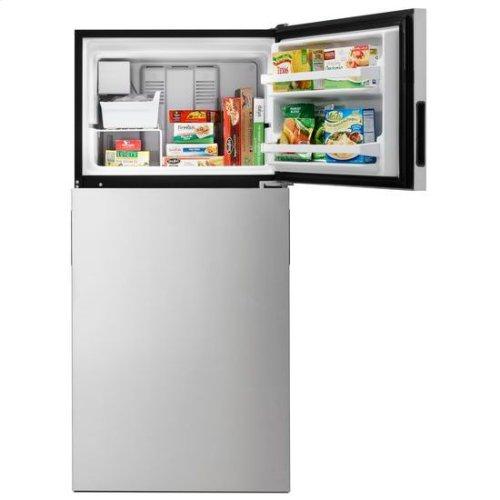 Whirlpool® 30-inch Wide Top Freezer Refrigerator - 18 cu. ft. - Fingerprint Resistant Stainless Steel