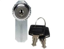 Black Side Panel Lock; Fits CFR2144, CFR2136, CFR2127 and CFR2115 Component Series AV racks