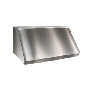 "Centro - 48"" Stainless Steel Pro-Style Range Hood with internal/external blower options"