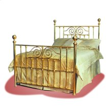 Infinity Brass Bed - #124