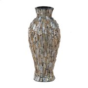 CERAMIC VASE WITH MOP Product Image