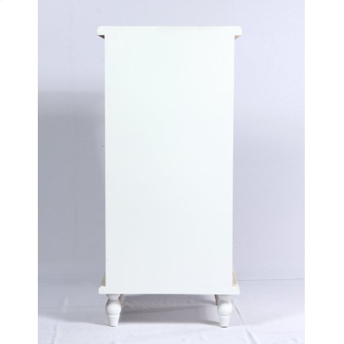Emerald Home Ac701-09 Canterwood Accent Cabinet, Whitewash