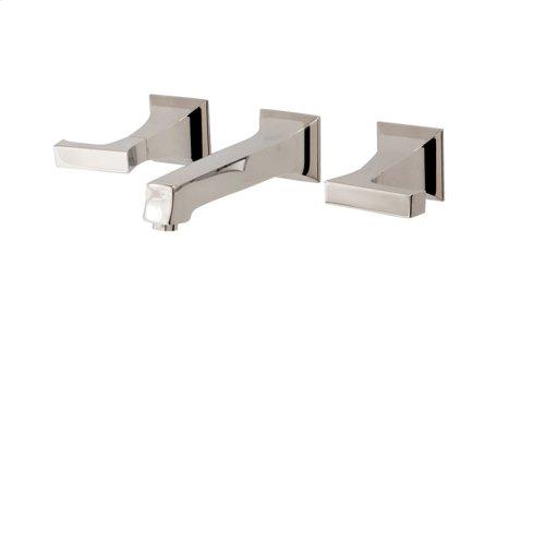 """Wallmount 8"""" c.c. lavatory faucet"""
