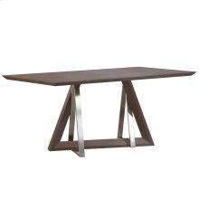 Drake Rectangular Dining Table in Walnut