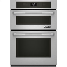"Combination Microwave/Wall Oven with MultiMode® Convection, 30"", Pro-Style® Stainless Handle"