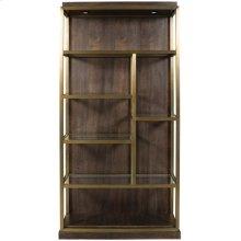 Luminary Bookcase Left Facing W589BL