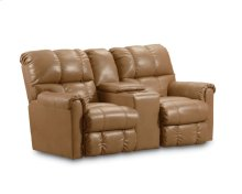 Griffin Double Reclining Console Loveseat with Storage