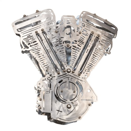 "15"" Wide Motorcycle Motor Wall Sconce"