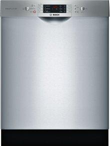 "ADA 24"" 800 Series Recessed Hndl, 6/5 Cycles, 3rd Rck, 44 dBA, RckMatic,15 Pl Stgs - SS"