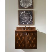 Cobre Petite Wall Mounted Sink Chest