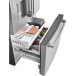 GE Energy Star &Reg; 25.6 Cu. Ft. French-Door Refrigerator