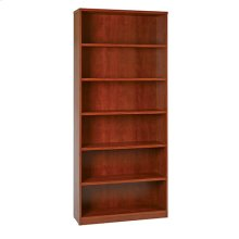 "36wx12dx84h 6-shelf Bookcase With 1"" Thick Shelves -"