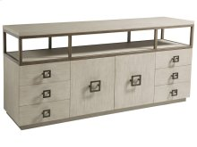 Impetus Media Console - Bianco