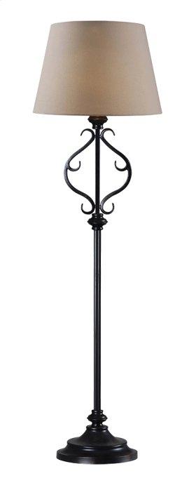 Clairmont - Outdoor Solar Floor Lamp