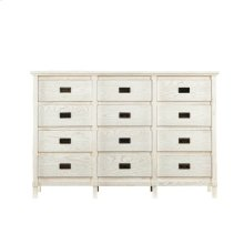 Coastal Living Resort Haven's Harbor Dresser in Nautical White