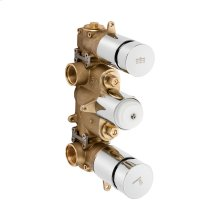 Dial 2000 Thermostatic Rough (2 Outlets)