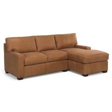 Manhattan Left Arm Loveseat & Right Arm Chaise - QS Frame