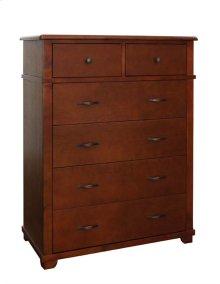 Woodridge 2 over 4, 6 Drawer Dresser