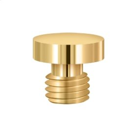 Button Tip - PVD Polished Brass