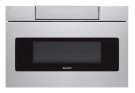 30 in. 1.2 cu. ft. 1000W Sharp Stainless Steel Microwave Drawer Oven (SMD3070AS) Product Image