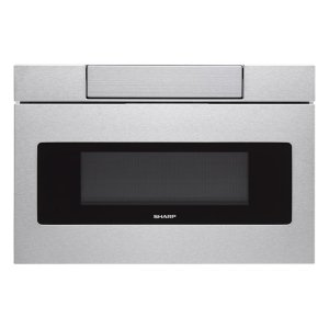 SHARP30 in. 1.2 cu. ft. 950W Sharp Stainless Steel Microwave Drawer Oven (SMD3070AS)
