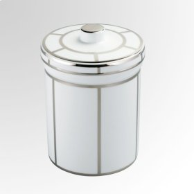 Porcelain Jar With Cover H 200 Mm 130 Mm