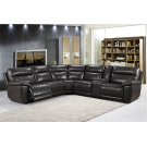 2490 Martin Sectional Armles Chair 1202lv Grey Product Image
