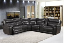 2490 Martin Sectional Pwr Pwr Head Armless Chair 1
