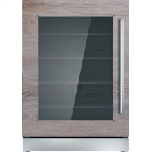 24-Inch Under-Counter Glass Door Refrigerator