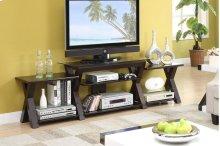 TV Stand W. Side Shelf