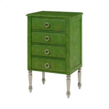 Green Accent Chest