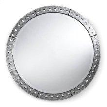 Venetian Round Mirror (32 Inch)
