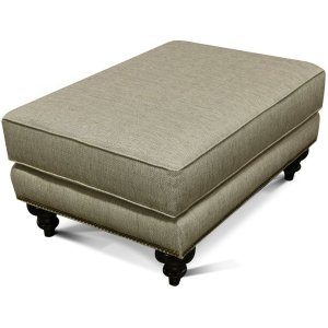 England Furniture Layla Ottoman With Nails 5m07n