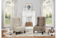 Accent Chair, Brown