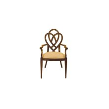 Heart & Diamond Arm Chair